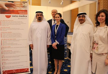 swiss medica consultation at abu dhabi neurorehabilitation conference