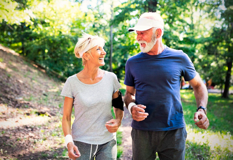 Regular moderate physical activity helps you stay healthy at any age.